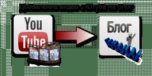Как добавить видео с Ютуба на блог